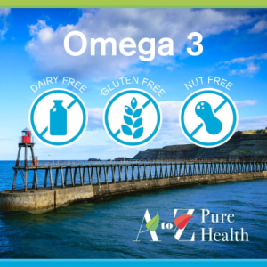 Omega 3 Vis Olie 1000mg, 365 softgels | AtoZ Pure Health Biotheek.com