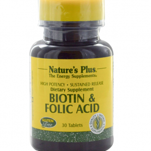 Biotine & Folic Acid (Foliumzuur), 30 Tablets – Nature's Plus Biotheek.com - Bigbizz.nl - 2dehandsvoertuig.nl