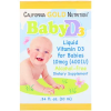 Baby Vitamine D3 400iu California Gold Nutrition Biotheek.com Bigbizz.nl