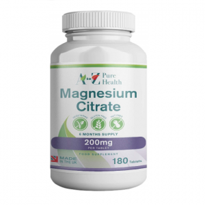 Magnesium citraat, 200 mg 180 tabletten | AtoZ Pure Health Biotheek.com