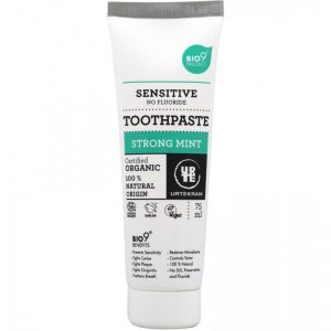 Urtekram Strong Mint Toothpaste Organic Tandpasta 75 ml